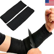 Durable Arm Guard Stainless Steel Wire Cut Proof Bracer Wrist Armband Sleeve US