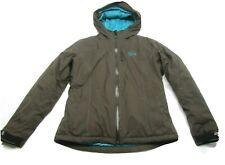 MOUNTAIN HARDWEAR CONDUIT SKI SNOW Brown Jacket Women's Size M Hood