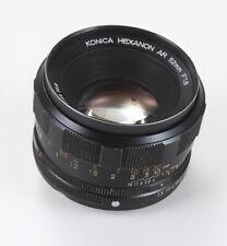 52MM 52/1.8 KONICA HEXANON AR, LIGHT DUST AND DEBRIS/180204