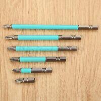 "6/10pcs 1/4"" Hex Shank Magnetic Tip Screwdriver Bits For Electric Screwdrivers"