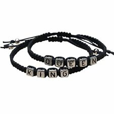 2pcs Couples Bracelets Set King and Queen Bracelet Handmade Lovers Bracelets New