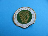 1996 Guinness Bowls Club lapel badge. VGC. Unused. Diamond Jubilee. Bowling.
