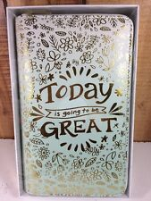 Recollections Planner Today Is Going To Be Great Zippered Personal Undated New