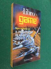 Libro Game LUPO SOLITARIO n 14 IL PRIGIONIERO DI KAAG (2000) Librogame Joe Dever