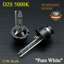 2x D2S 35W Bulbs Xenon Pure White 5000K Dipped Beam VW Passat 3BG 3B6 2000-2005