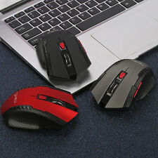 Gaming Adjustable 2400 DPI 2.4 GHz Optical Wireless Gaming Mouse (INT)