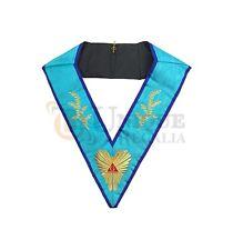 Masonic Memphis Misraim Worshipful Master collar Machine embroided MC022