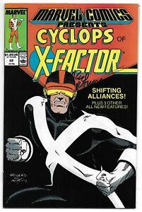 Marvel Comics Presents 22 Signed Rod Ramos Autographed Cyclops Black Panther