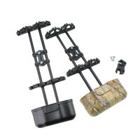 Archery 5 Spot Arrow Quiver Holder Quick Release Lock Mounting Compound Bow Case
