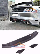 APR Style Real Carbon Fiber GT Wing Rear Spoiler For Ford Mustang 14-17 f013