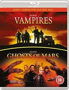 VAMPIRES / GHOSTS OF MARS BLU RAY NEW SEALED REGION FREE JOHN CARPENTER