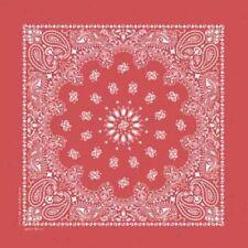 Bufandas de hombre bandanas rojos