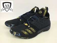 a631dca8e08e Adidas James Harden Vol 2 MVP Black Gold men s Basketball shoe F36848 Size  12
