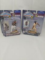 2001 Willie McCovey Giants Starting Lineup 2 Cooperstown /& 2001 Barry Bonds