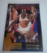1995-96 UD Collectors Choice  MICHAEL JORDAN Jordan Collection Insert BULLS JC3