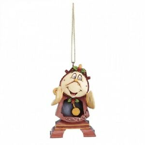Disney Christmas Decorations Showcase Collection Cogsworth Hanging Ornament