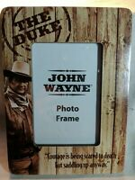 John Wayne The Duke 4 × 6 Wooden Photo Frame New in wrapping stands vertical