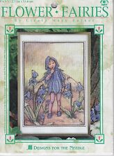 Scilla Fairy Stamped Cross Stitch Kit Designs Needle Flower Fairies