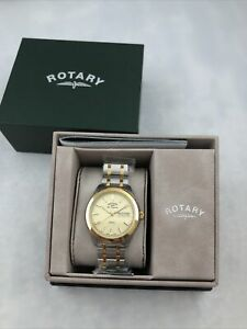Rotary Gents Stainless Steel 2 Tone GB90174/03 Les Originales Legacy Watch 0527