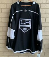 Adidas Los Angeles Kings Climate Black Home Jersey - Men's Size 56 (XXL) - NWT