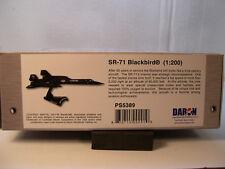 SR71 BLACKBIRD SPY PLANE DARON 1:200 SCALE DIECAST DISPLAY MODEL