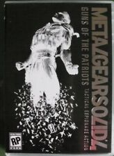Metal Gear Solid 4 Guns of the Patriots / MGS Saga vol. 2, Bonus DVD - NO GAME