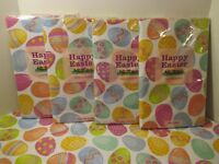 1 NIP Elrene Easter Egg Vinyl Flannel Backed Kitchen Party Holiday Tablecloth