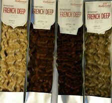 Hollywood 100% Human Hair for Weaving - American French Deep Ii