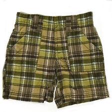 Carter's Boys Green Plaid Shorts - 2T EUC