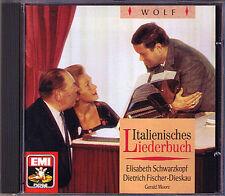 Fischer-Dieskau & Schwarzkopf: Hugo Wolf Italian Songbook CD Dietrich Elisabeth