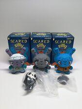 Kidrobot Scared Silly Dunny Series by Jenn & Tony Bot - 3pcs Set