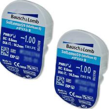 2x Stueck Soflens 59 Bausch&Lomb Monatslinsen Kontaktlinsen/ Contact Lenses