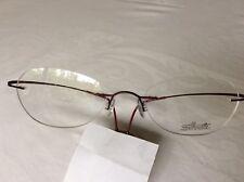 Silhouette M 6546 Titanium Rimless Glasses