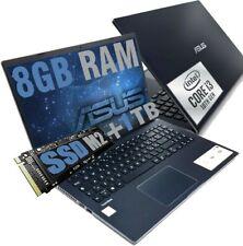 """NOTEBOOKASUSExpertBook 15,6"""" Full Hdi3 10thRam 8GBSSD 256GB + HD 1TB Win10P"""