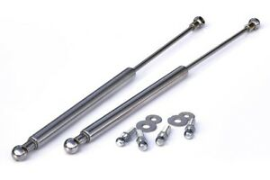 VW Rabbit/Golf MK1 1 Chrome Hood Gas Lifter Lifts Dampers Hing Struts Shocks GTI