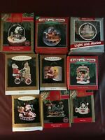HALLMARK ORNAMENTS  9 in this lot of collectibles