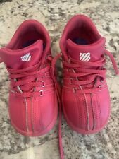 New listing Girls K Swiss Tennis Shoes Size  9 Youth Hot Pink Sneaker