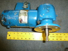 Tested Emerson DC Electric Motor 1/12 HP 100 Volt DC 47.3 / 4.73 RPM Face mount