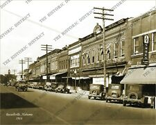 Russellville, Alabama 1914 8x10 Historic Vintage Photo Reprint FREE SHIPPING!