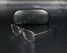 RAY BAN RX6434 2501 Silver Demo Lens 55 mm Unisex Eyeglasses