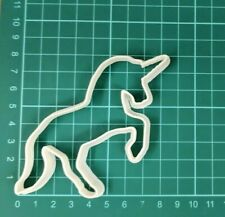 UNICORN BISCUIT CUTTER SEAMLESS COOKIES CRAFT CAKE DECORATING