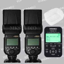 Set / Yongnuo YN968N LED TTL HSS Flash Speedlite + YN-622N-TX Trigger for Nikon