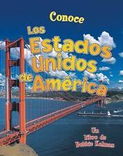 Conoce los Estados Unidos de America Conoce Mi Pais Paperback Spanish Editi