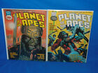 PLANET OF THE APES #18 & 19 - 1974 Series - Curtis / Marvel Comics Magazine