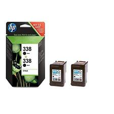 HP 338 - Pack de 2 cartouches HP numero338 C8765EE noirs