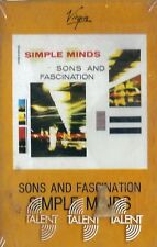 MUSICASSETTA     SIMPLE MINDS - SONS AND FASCINATION  sigillata    (23)