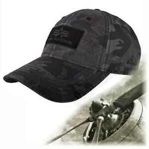 Alpha Industries VLC Baseball Cap - Adjustable Cotton Streetwear - New Sports