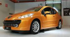 Voitures miniatures orange pour Peugeot