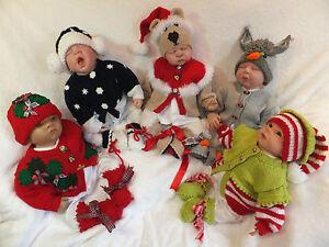 KNITTING PATTERN TO MAKE CHRISTMAS BABIES (no 3) 0/3 3/6 & 6/12 MTHS BABY/REBORN