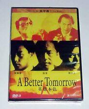 "Chow Yun-Fat ""A Better Tomorrow"" John Woo RARE HK 1986 Action OOP DVD"